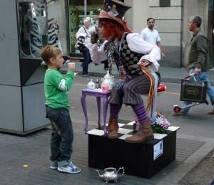 40 - Street Entertainer
