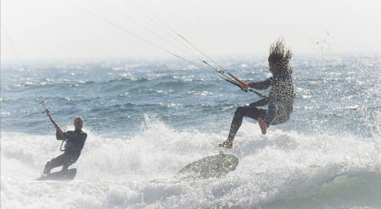Ron Grender - Windsurfers
